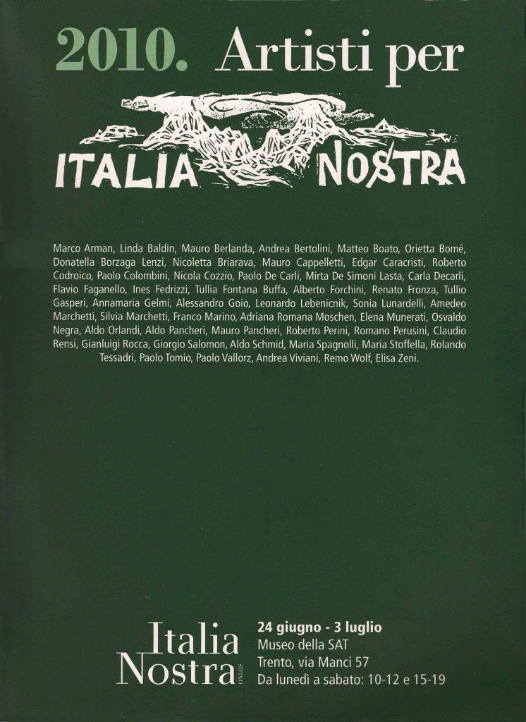 Copertina Italia Nostra