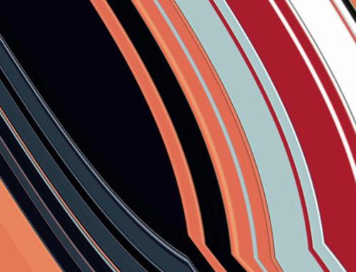 Parallele non euclidee, 2010, fine art su carta, 40 x 40 cm